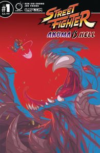 [Street Fighter: Akuma Vs Hell #1 (Cover B Huang) (Product Image)]