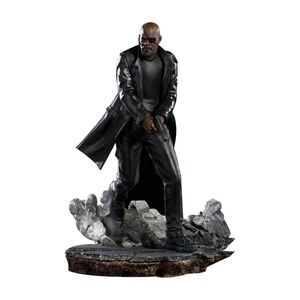 [Spider-Man: Far From Home: Art Scale Statue: Nick Fury (Product Image)]