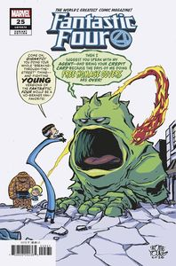 [Fantastic Four #25 (Young Variant Emp) (Product Image)]