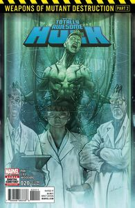 [Totally Awesome Hulk #20 (2nd Printing Asrar Variant) (Product Image)]