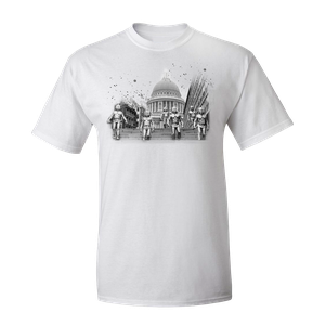 [Doctor Who: T-Shirt: The Cybermen Take St Pauls (Product Image)]