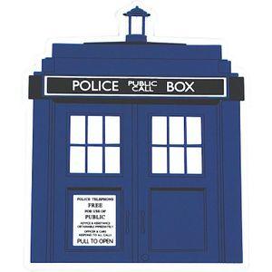 [Doctor Who: Coaster: TARDIS (Product Image)]