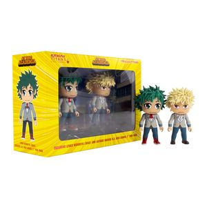 [My Hero Academia: Kawaii TITANS 2-Pack: Deku & Bakugo (NYCC 2019 Exclusive) (Product Image)]