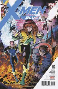 [X-Men: Blue #1 (Art Adams Variant - 2nd Printing) (Product Image)]