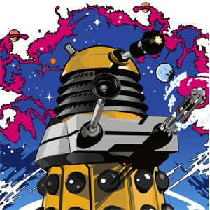 [Doctor Who: Greeting Card: Dalek (Product Image)]