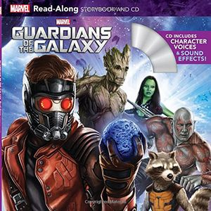 [Guardians Of The Galaxy: Read-Along Storybook & CD (Product Image)]