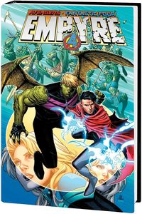 [Empyre: Omnibus (Cheung Hulkling Wiccan DM Variant Hardcover) (Product Image)]