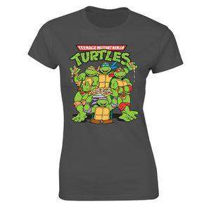 [Teenage Mutant Ninja Turtles: Women's Fit T-Shirt: Group (Product Image)]