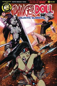 [Danger Doll Squad: Galactic Gladiators #3 (Cover A Celor) (Product Image)]