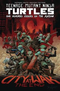 [Teenage Mutant Ninja Turtles: Ongoing #100 (Deluxe Hardcover) (Product Image)]