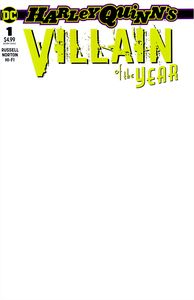 [Harley Quinn: Villain Of The Year #1 (Blank Variant Edition) (Product Image)]