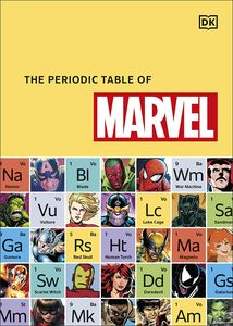 [The Periodic Table Of Marvel (Hardcover) (Product Image)]
