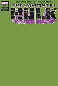 [Immortal Hulk #25 (Green Variant) (Product Image)]