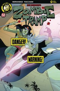 [Zombie Tramp: Ongoing #76 (Cover B Maccagni Risque) (Product Image)]