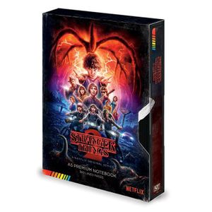 [Stranger Things: Notebook: VHS Season 2 (Product Image)]