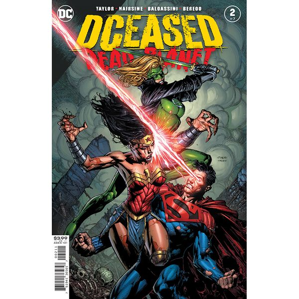 [The cover for Dceased: Dead Planet #2]