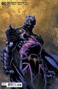 [Dark Nights: Death Metal #5 (FinchPitch Black Martian ManhunterVariant) (Product Image)]