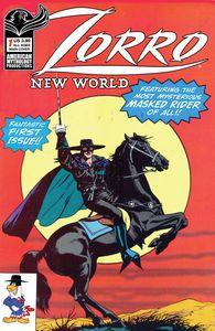 [Zorro: New World #1 (Cover A Capaldi) (Product Image)]