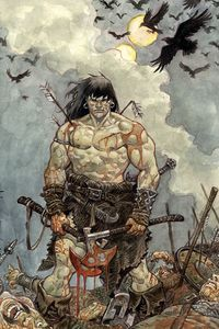 [Cimmerian: Iron Shadows In The Moon #3 (Cover C Josep Homs) (Product Image)]
