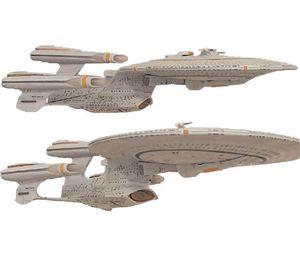 [Star Trek: The Next Generation: Enterprise D Ship (All Good Things Variant) (Product Image)]