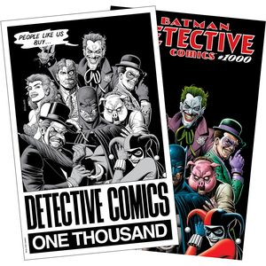 [Detective Comics #1000 (Forbidden Planet 40th Anniversary Bolland Variant Set) (Product Image)]