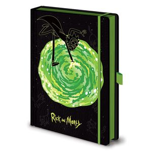 [Rick & Morty: Notebook: Portals (Product Image)]