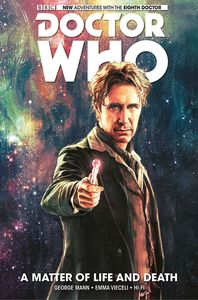 [Doctor Who: Eighth Doctor: Volume 1: A Matter Of Life & Death (Hardcover) (Product Image)]