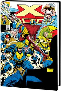 [X-Factor By Peter David: Omnibus: Volume 1 (Quesada DM Variant Hardcover) (Product Image)]
