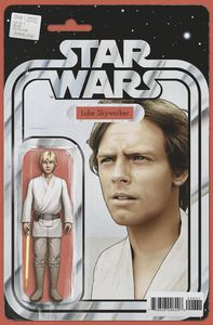 [Star Wars #6 (Christopher Yellow Lightsaber Action Figure Variant) (Product Image)]