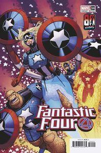 [Fantastic Four #34 (Bradshaw Captain America 80th Variant) (Product Image)]