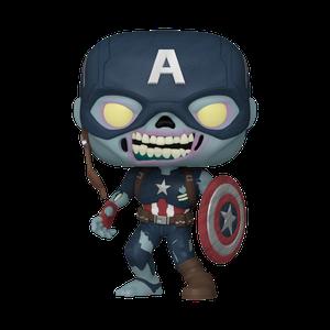 [Marvel: What If...?: Pop! Vinyl Figure: Zombie Captain America (Product Image)]