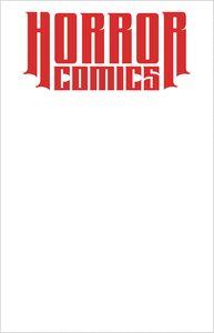 [Horror Comics Sketchbook (One Shot Virgin White Edition) (Product Image)]