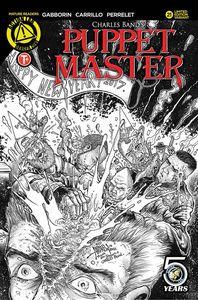[Puppet Master #21 (Cover E Interlocking Kill Sketch) (Product Image)]