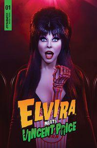 [Elvira Meets Vincent Price #1 (Cover D Photo) (Product Image)]