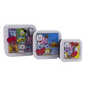 [BT21: Snack Boxes (Set Of 3) (Product Image)]