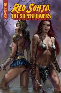 [Red Sonja: The Superpowers #5 (Cover A Parrillo) (Product Image)]