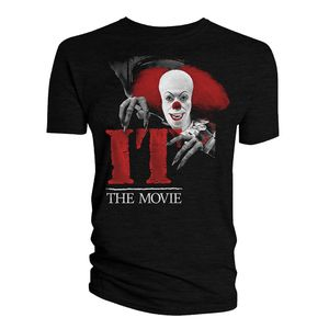 [IT (1990): T-Shirt: Pennywise The Clown (Product Image)]
