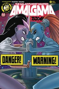 [Amalgama: Space Zombie: Galaxy's Most Wanted #4 (Cover B Young Risque) (Product Image)]