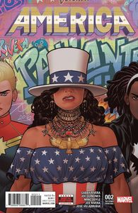 [America #2 (2nd Printing) (Product Image)]