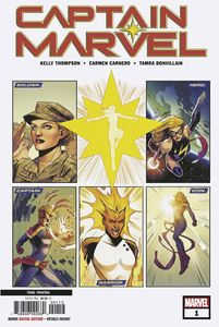 [Captain Marvel #1 (3rd Printing Camero Variant) (Product Image)]