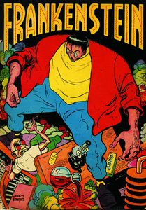 [Frankenstein: Mad Science Of Dick Briefer (Product Image)]