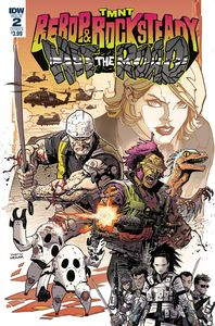 [TMNT: Bebop & Rocksteady Hit The Road #2 (Cover B Weaver) (Product Image)]