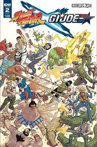 [Street Fighter X/GI Joe #2 (Subscription Variant) (Product Image)]