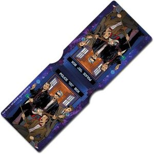 [Doctor Who: Card Holder: 4 Doctors Band (Product Image)]