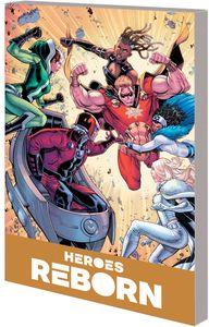 [Heroes Reborn: America Mightiest Hero Companion: Volume 1 (Product Image)]