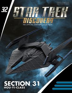 [Star Trek: Discovery Figurine Magazine #32 :Section 31 Hou Yi Class (Product Image)]