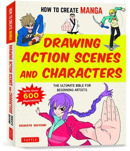 [How To Create Manga: Drawing Action Scenes & Characters (Product Image)]