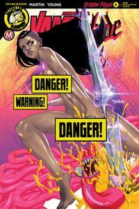 [Vampblade: Season 4 #6 (Cover F Amalgama Cat Fight Risque) (Product Image)]