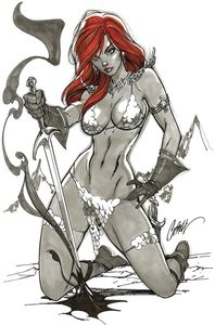 [Red Sonja #1 (Cover K Campbell Virgin Variant) (Product Image)]
