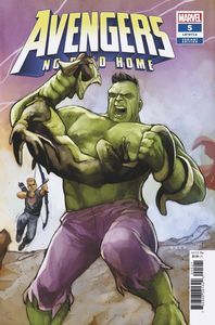 [Avengers: No Road Home #5 (Noto Connecting Variant) (Product Image)]